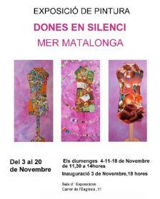 exposició Dones en Silenci