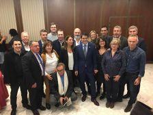 Trobada president diputació amb alcaldes